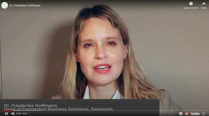 Smama Though Leader Talk  Mit Dr. Friederike Hoffmann, Swisscom