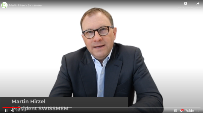 Smama Thought Leader Talk Mit Martin Hirzel, Präsident Swissmem